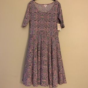 Lularoe size L and XL Nicole style dress